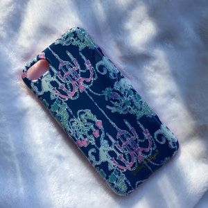 Lily Pulitzer iPhone 7/8 case in Monkey Trouble